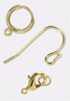 3 Micron Gold Plated Charm's & Findings