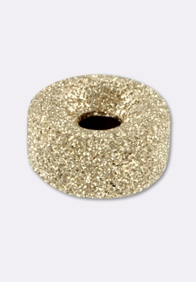 10x 6mm 14k gold filled spark stardust round seamless shiny bead spacer S16g