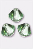 4mm Swarovski Crystal Bicone Beads 5328 Chrysolite x50