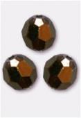 4mm Swarovski Crystal Round 5000 Crystal Dorado x10