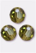 4mm Swarovski Crystal Round 5000 Khaki x10