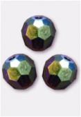 4mm Swarovski Crystal Round 5000 Garnet AB x10