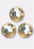 6mm Swarovski Crystal Round 5000 Jonquil AB x6