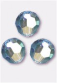 6mm Swarovski Crystal Round 5000 Aquamarine AB x6