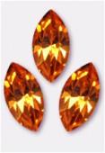 10x5mm Swarovski Crystal Xillion Navette Fancy Stone 4228 Topaz F x1