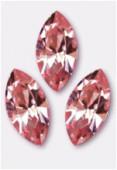 15mm Swarovski Crystal Xillion Navette Fancy Stone 4228 Pink Light F x1