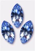 15x7mm Swarovski Crystal Xillion Navette Fancy Stone 4228 Light Sapphire F x1