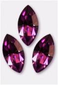 15x7mm Swarovski Crystal Xillion Navette Fancy Stone 4228 Amethyst F x1