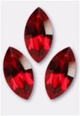 15x7mm Swarovski Crystal Xillion Navette Fancy Stone 4228 Siam F x1