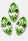 15x7mm Swarovski Crystal Xillion Navette Fancy Stone 4228 Peridot F x1