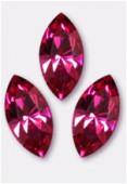 15x7mm Swarovski Crystal Xillion Navette Fancy Stone 4228 Fuchsia F x1