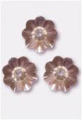 6mm Swarovski Crystal Marguerita 3700 Light Peach x10