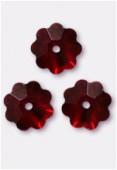 6mm Swarovski Crystal Marguerita 3700 Siam x10