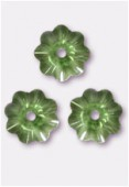 6mm Swarovski Crystal Marguerita 3700 Peridot x10