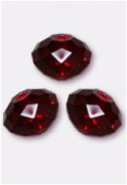 6mm Swarovski Crystal Briolette Bead 5040 Siam x4
