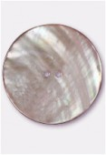 Shell Button 44 mm Pink x1