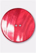 Shell Button 44mm Red x1