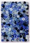 4mm Swarovski Crystal Bicone Beads 5328 Ocean Mix x50