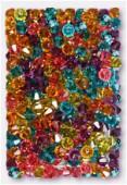 4mm Swarovski Crystal Bicone Beads 5328 Madras Mix x50
