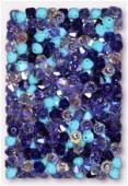 4mm Swarovski Crystal Bicone Beads 5328 Lavender fields Mix x50