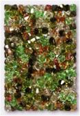 4mm Swarovski Crystal Bicone Beads 5328 Camouflage Mix x50