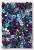 4mm Swarovski Crystal Bicone Beads 5328 Thousand And One Nights Mix x50