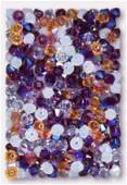 4mm Swarovski Crystal Bicone Beads 5328 Geode Mix x50