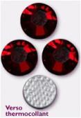 4mm Swarovski Crystal Hotfix Flatback Rhinestones 2038 SS16 Siam M HF x1440