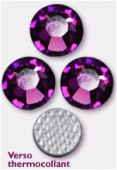 4mm Swarovski Crystal Hotfix Flatback Rhinestones 2038 SS16  Amethyst M HF x1440