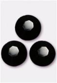 4mm Swarovski Crystal Flatback Rhinestones 2058 SS16 Jet F x1440
