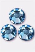 3mm Swarovski Crystal Flatback Rhinestones 2058 SS10 Aquamarine F x1440