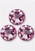 4mm Swarovski Crystal Flatback Rhinestones 2058 SS16 Light Pink F x1440