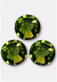 4mm Swarovski Crystal Flatback Rhinestones 2058 SS16 Olivine F x1440