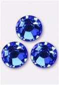 3mm Swarovski Crystal Flatback Rhinestones 2058 SS10 Sapphire F x1440