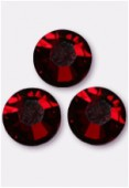 3mm Swarovski Crystal Flatback Rhinestones 2058 SS10 Siam F x1440