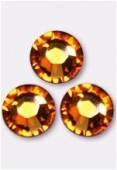 5mm Swarovski Crystal Flatback Rhinestones 2058 SS20 Topaz F x1440