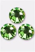 2mm Swarovski Crystal Flatback Rhinestones 2058 SS6 Peridot F x1440