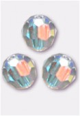 14mm Swarovski Crystal Round Bead 5000 Crystal AB x1
