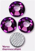 3mm Swarovski Crystal Hotfix Flatback Rhinestones 2038 SS10 Amethyst M HF x1440