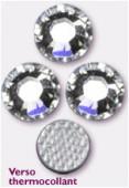 3mm Swarovski Crystal Hotfix Flatback Rhinestones 2038 SS10 Crystal M HF x1440