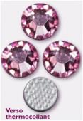 3mm Swarovski Crystal Hotfix Flatback Rhinestones 2038 SS10 Pink Light M HF x1440