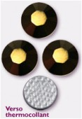 3mm Swarovski Crystal Hotfix Flatback Rhinestones 2038 SS10 Crystal Dorado M HF x1440
