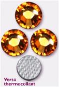 3mm Swarovski Crystal Hotfix Flatback Rhinestones 2038 SS10 Topaz M HF x1440