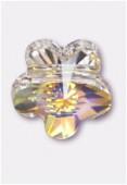 8mm Swarovski Crystal Marguerite LochRose 5744 Crystal AB x1