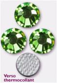 2mm Swarovski Crystal Hotfix Flatback Rhinestones 2038 SS6 Peridot M HF x1440