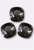 12mm Swarovski Crystal Cushion Cut Fancy Square Stone 4470 Black Diamond F x1