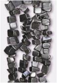 Black Stone Semi-Precious Chips x90cm