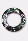 14mm 14mm Swarovski Crystal Cosmic Ring Pendant 4139  Crystal Vitrail Light x1