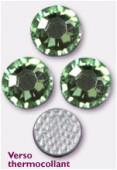 3mm Swarovski Crystal Hotfix Flatback Rhinestones 2038 SS10 Chrysolite M HF x1440