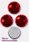 3mm Swarovski Crystal Hotfix Flatback Rhinestones 2038 SS10 Light Siam M HF x50